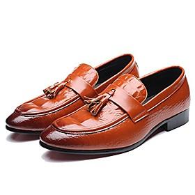 men's fashion tuxedo loafers rhinestones slip-on wedding moccasins size 9.5 yellow
