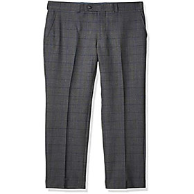 butamp; #39;s slim fit suit separates-custom jacket size selection, grey medium plaid pant, 38w x 34l