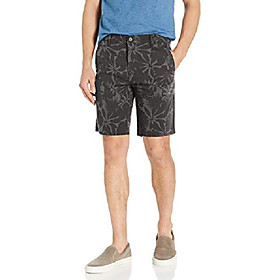 butamp; #39;s standard taper chino short, aldo mineral black yarn dye chambray - stretch, 28