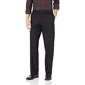 butamp; #39;s relaxed fit signature khaki lux cotton stretch pants, navy amp; #40;cottonamp; #41;-discontinued, 34w x 31l