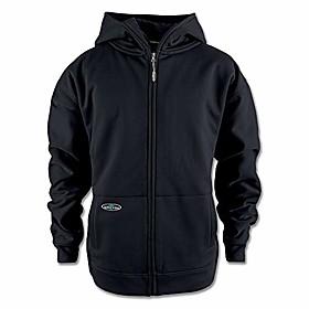 men's 400441 tech double thick full zip sweatshirt, black - s
