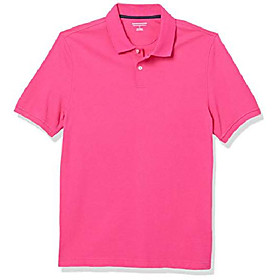 butamp; #39;s slim-fit cotton pique polo shirt, -hot pink, x-large