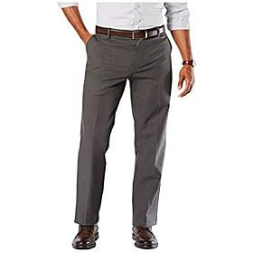 butamp; #39;s classic fit signature khaki lux cotton pants-pleated, wells steelhead amp; #40;stretchamp; #41;, 32w x 30l