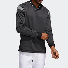 Men's 1 Piece Golf Polo Shirts Color Block UV Sun Protection Breathable Quick Dry Autumn / Fall Spring Winter Sports Outdoor / Cotton / Long Sleeve / Stretchy