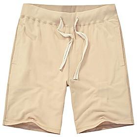 butamp; affordable classic cotton beach short (xxl, khaki)