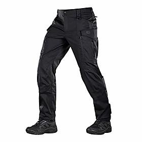 conquistador flex - tactical pants men - with cargo pockets (dark grey, w32 / l30)