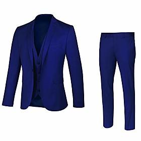 butamp; #39;s suit: slim fit, 3 piece, 1 button