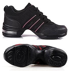 woman´s dance sneaker mesh leather jazz, ballroom, ballet black (7) Listing Date:10/15/2020