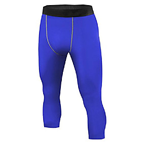 men's 3/4 compression base layer tights pants running leggings camouflage