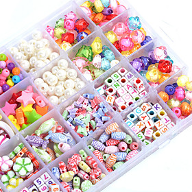 Manual Creative Beads The Latest Children's Educational Toys Diy Acrylic Plum Shape Box Material:Polycarbonate; Features:DIY; Shipping Weight:0.4; Package Dimensions:16.016.02.5; Net Weight:0.4; Listing Date:04/18/2016; Special selected products:Clearance
