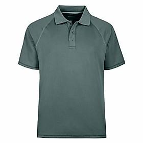 butamp; #39;s short sleeve moisture wicking performance golf polo shirt amp; #40;4xl,grayamp; #41;