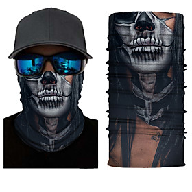 Men's Active Bandana - Graphic / Skull