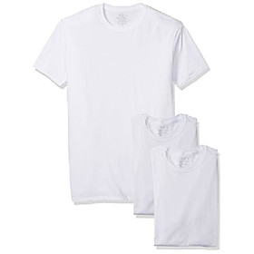 men's 3-pack breathable crew t-shirt, white ice - tall sizes, 2x-large