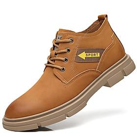 Men's Boots British Daily Pigskin Black / Brown Fall / Winter
