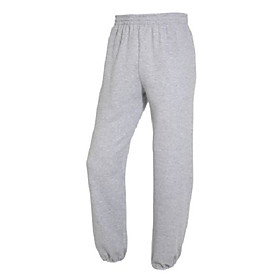 best collectionamp;#8482 men's fleece elastic bottom pant xxx-large heather grey