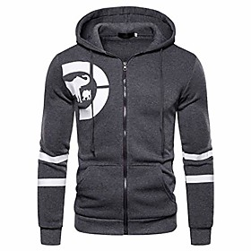 men's hoodies zip-up hoodie for men dark gray zip-up hoodie