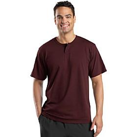 butamp; #39;s short sleeve henley xxl maroon