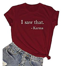 Frauen grafische Baumwolle T-Shirts Mädchen süße T-Shirts Geschenkideen Wein rot Medium Kotierung:10/16/2020; Speziell ausgewählte Produkte:Übergröße