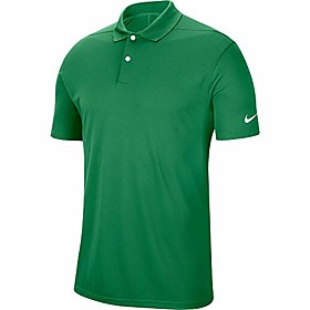 golf dry victory polo , classic green/white, x-large