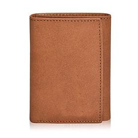 Men's Bags Cowhide Wallet for Daily Black / Khaki / Brown / Dark Blue