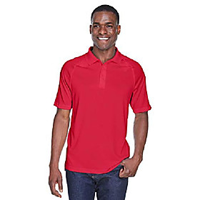 adult tactical performance polo s red