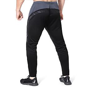 Men's Chinos Sweatpants Pants Print Breathable Black S M L