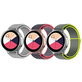 Smart Watch Band for Samsung Galaxy 3 PCS Sport Band Nylon Replacement...