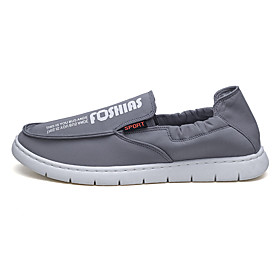 Men's Loafers  Slip-Ons Casual Daily Mesh Wear Proof Black / Beige / Gray Spring / Fall
