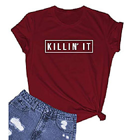 women's basic style graphic cute t shirts fashion tees Listing Date:10/16/2020