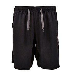 men's above knee 19 inch stretch unbreakable pro workout shorts (xx large, grey)