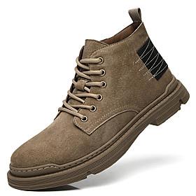 Men's Boots British Daily Pigskin Black / Khaki / Brown Fall / Winter
