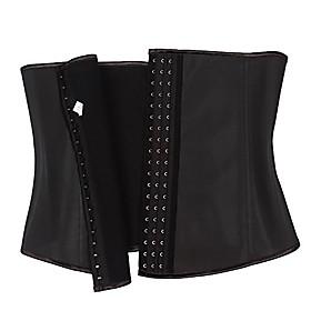 men's latex waist cincher trainer tummy control workout party bodysuit shaper gift (6xl)