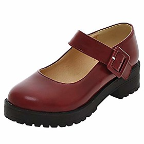 women's platform mary janes (6.5, wine red) Shipping Weight:0.771; Listing Date:10/29/2020