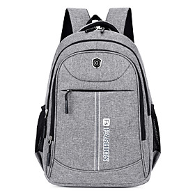 Unisex Oxford Cloth School Bag Commuter Backpack Adjustable Large Capacity Pattern /...
