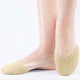 Women's Dance Shoes Modern Shoes Flat Flat Heel Camel Elastic Band Adults' Category:Modern Shoes; Upper Materials:Cotton; Heel Type:Flat Heel; Actual Heel Height:0.39; Gender:Women's; Style:Flat; Heel Height(inch):<1; Outsole Materials:Leather; Occasion:Training; Age Group:Adults'; Closure Type:Elastic Band; Listing Date:11/12/2020; Production mode:External procurement; Foot Length:; Size chart date source:Provided by Supplier.