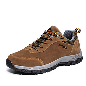 Men's Trainers Athletic Shoes Outdoor Hiking Shoes Walking Shoes PU Brown Gray Fall Category:Trainers Athletic Shoes; Upper Materials:PU; Season:Fall; Gender:Men's; Activity:Walking Shoes,Hiking Shoes; Toe Shape:Round Toe; Outsole Materials:Rubber; Occasion:Outdoor; Closure Type:Lace-up; Shipping Weight:0.56; Listing Date:11/04/2020; Foot Length:; Size chart date source:Provided by Supplier.
