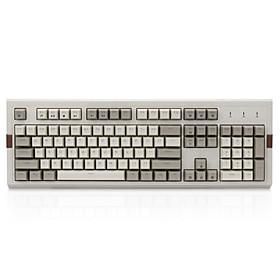 ajazz ak510 retro grijs mechanisch toetsenbord groene as thee-as zwarte as gaming rgb-achtergrondverlichting