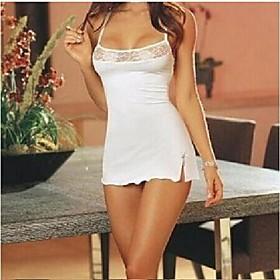 lingerie en dentelle pour dames nuisettes vêtements de nuit ensemble de lingerie avec robe de chemise de nuit string Tissu:Autres; date d'inscription:12/14/2020; Tour de taille:null