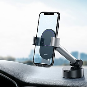 Baseus Gravity Car Phone Holder Suction Cup Adjustable Universal Mount Holder for Phone in Car Cell Mobile Smartphone Support