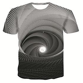 f_gotal Unisex 3d Neuheit T-Shirts Männer Grafik lustige T-Shirts 3d gedruckt Crewneck Kurzarm Sommer lässig T-Shirts Bluse Tops Stoff:Polyester; Kotierung:10/27/2020; Brust:null; Länge:null