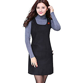 Women's Sleeveless Houndstooth Dresses US 8 Black Listing Date:01/12/2021