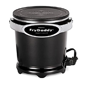 presto 05420 frydaddy electric fryer, black Listing Date:04/14/2021