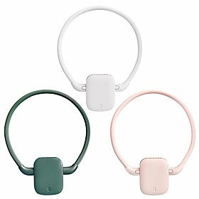 2021 new product outdoor handheld multifunctional usb charging mini leafless hanging waist clip fan sports hanging neck fan Listing Date:04/29/2021