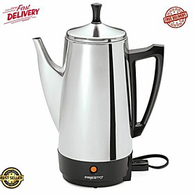 coffee automatic perk percolator stainless steel Listing Date:04/15/2021
