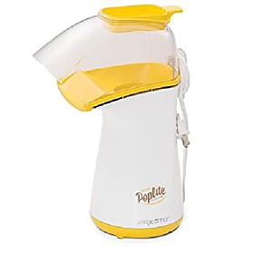 presto poplite hot air popper, 1 size, white Listing Date:04/14/2021