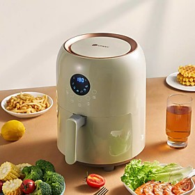 Xiaomi Deep fryer for home Intelligent Air fryer Oil-free timing multi-function deep frying pot healthy low calorie low fat airfryer Voltage (V):220; Brand:Xiaomi; Listing Date:04/19/2021