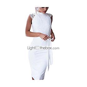Women's White Solid Color 2021 S M L XL