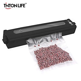 Vakuum Versiegelung Lebensmittel Haushalt mit Freies 10 stcke Vakuum taschen 17x25cm Abdichtung Maschine Film Container Lebensmittel Sealer saver Haushalt Listing Date:05/26/2021