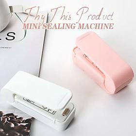 Tragbare Mini Sealer Home Wrme Tasche Kunststoff Lebensmittel Snacks Tasche Abdichtung Maschine Lebensmittel Verpackung Kche Lagerung Tasche Clips Grohandel Listing Date:05/26/2021