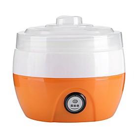 Electric Automatic Yogurt Maker Machine Yogurt Diy Tool Plastic Container Kitchen Appliance Voltage (V):220; Listing Date:05/26/2021